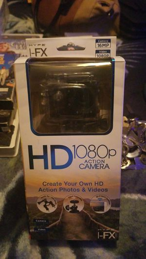 HD 1080p action camera brand new for Sale in Hesperia, CA