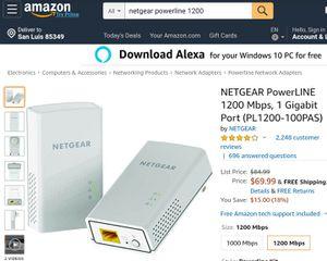 Netgear Powerline 1200 for Sale in Yuma, AZ