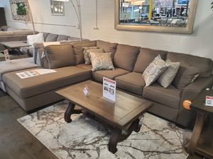 Sectional Sofa, Brown for Sale in Fountain Valley, CA