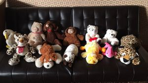 Stuff animals $10 for all or $1 each for Sale in Cheektowaga, NY