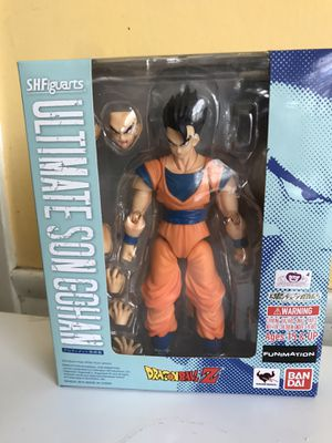 TAMASHII NATIONS Bandai S.H.Figuarts Ultimate Son Gohan Dragon Ball Z Action Figure brand new for Sale in Garland, TX