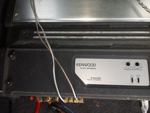 Kenwood 500.1 mono block class D amp for Sale in Charlotte, NC