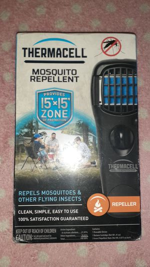 Termisil mosquito repellent provided 15 x 15 ft zone of protection repels mosquitoes and other flying insects for Sale in Hialeah, FL