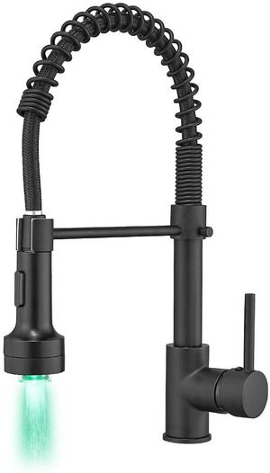 GIMILI Black Kitchen Faucet with Sprayer for Sale in South Houston, TX