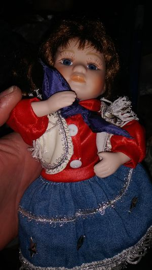 Geppetto red white & blue doll antique for Sale in Phoenix, AZ