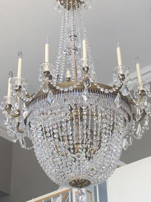 Beautiful chandelier for sale. Less than a year old. Purchased it for $6,000.00 selling it for $3,000.00. FIRM ON PRICE for Sale in New City, NY