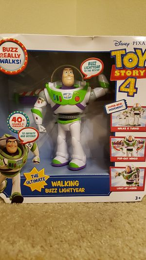 New! Walking Buzz Lightyear 40+ sounds and phrases for Sale in Ashburn, VA