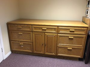 Oak cabinet for Sale in Santa Fe Springs, CA