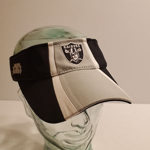 NFL Raiders Reebok Silver & Gray Sun Visor Hat. for Sale in San Jose, CA