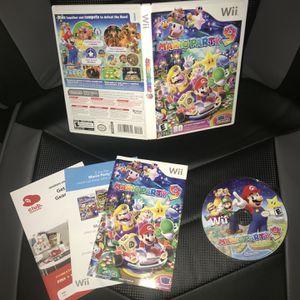 Mario Party 9 (Wii, 2012) CIB W/ Inserts for Sale in Murrieta, CA