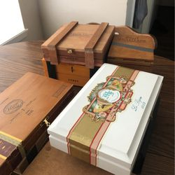 Wood Cigar Boxes for Sale in Houston,  TX