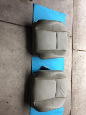 Auto parts Infiniti Fx 35 2005 Seat Upper Driver and Passenger Backrest colors Beige 2 Pcs 100$ for Sale in Chicago, IL
