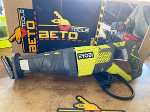 Ryobi 12Amp variable speed reciprocating saw for Sale in Baldwin Park, CA