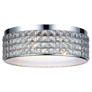 DSI Lighting Callisto Crystal Ceiling LED Flush Mount Dimmable Light Fixture for Sale in Pompano Beach, FL