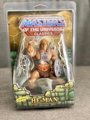 He-Man Masters of the Universe Classics Very Rare Collector's Item ©️ 2012 Mattel for Sale in Miami, FL