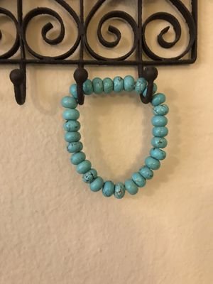 2 beaded bracelets with turquoise accents. $3 each for both for $5 for Sale in San Diego, CA