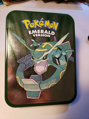 Pokemon emerald tin for Sale in Raleigh, NC