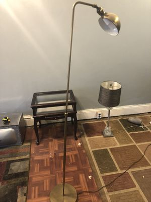 Brass floor lamp for Sale in Philadelphia, PA