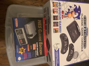 Classic game consoles ( saga Genesis and nes platforms ) for Sale in El Cajon, CA