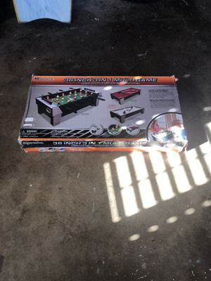 Md sports 3 in 1 multi game set for Sale in Whittier, CA