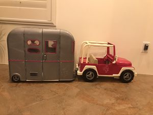 American Girl Doll camper and Jeep for Sale in Surprise, AZ