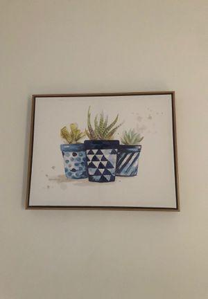 Succulent photo wall art for Sale in Boston, MA