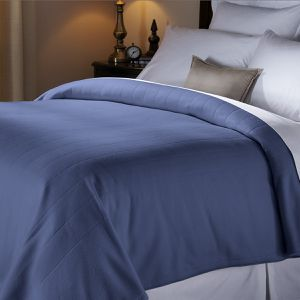 Sunbeam Heated Electric Fleece Blanket with 5 Heat Settings, Twin, Newport Blue for Sale in Houston, TX