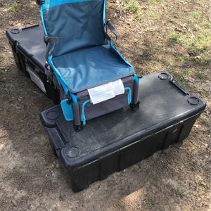 Back Pack, Cooler/storage And Chair all In One for Sale in Canyon Lake, TX