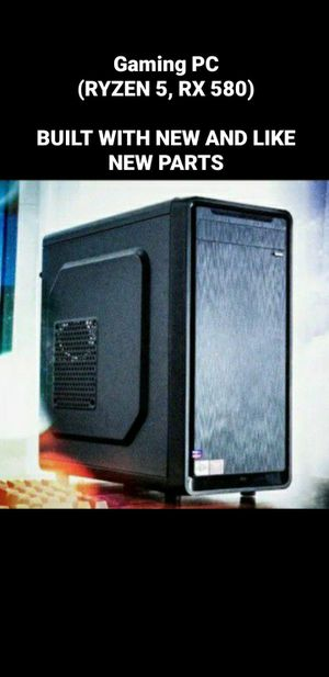 Gaming Workstation PC (RYZEN 5, RX 580) Desktop Computer for Sale in Los Angeles, CA