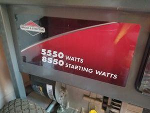 Briggs stratton 5500 watt Portable generator for Sale in Burbank, CA