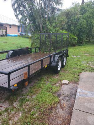 2012/bigtex utility trailer 7/16ft for Sale in Stuart, FL