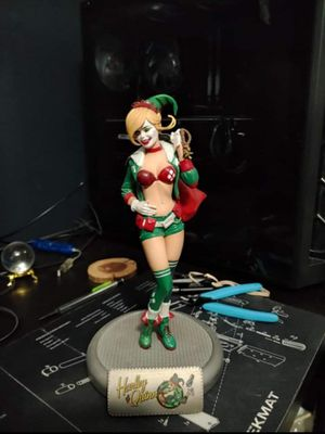 Harley Quinny special edition holiday collectible statue for Sale in Garner, NC