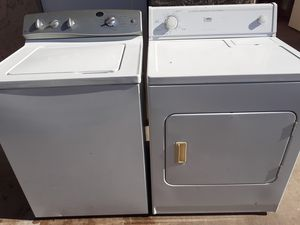 General electric washer whirlpool estate dryer for Sale in Phoenix, AZ