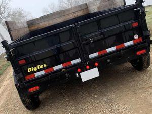 Dump Big Tex Trailer2O17 Price$1200 for Sale in Kansas City, MO