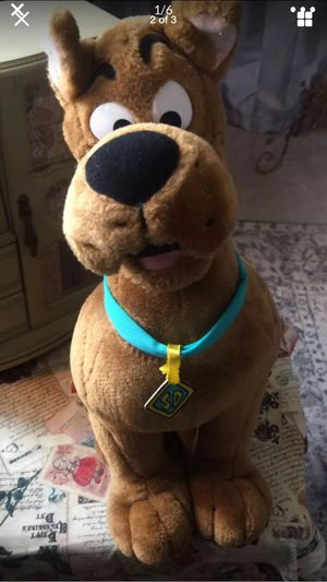 "Adorable! ScoobyDoo "" Cartoon Classic Stuffed Toy plush kids collectible vintage euc 19 "" H for Sale in Northfield, OH"