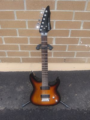 Laguna electric guitar with stand plays great for Sale in Marysville, WA