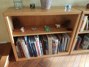 5 short bookshelves, $40 each for Sale in Vista, CA