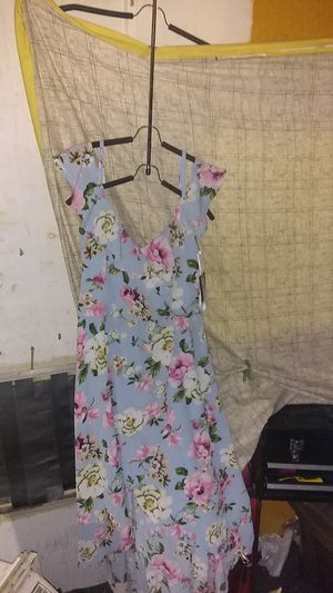 Dresses Spring/Summer styles/ off-shoulder, lightweight material lg+XL for Sale in Portland, OR