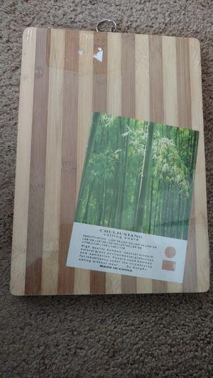 Wooden cutter board for Sale in Redmond, WA