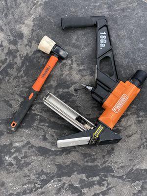 Freeman 18 gauge cleat floor nailer for Sale in West Richland, WA