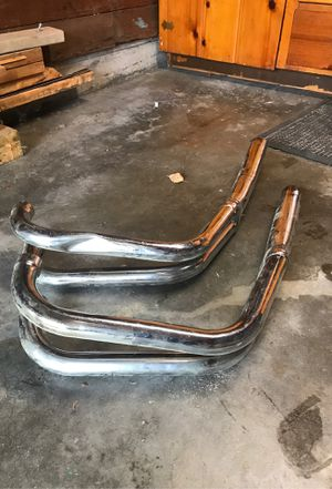 2-into-1 Exhaust Headers Pipes Vintage Motorcycle for Sale in Seattle, WA