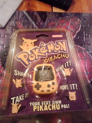 1998 Pokemon Pikachu Pal NIB Rare for Sale in Lexington, NC