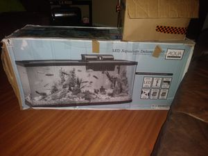 Aqua culture 55 gallon aquarium kit for Sale in Las Vegas, NV