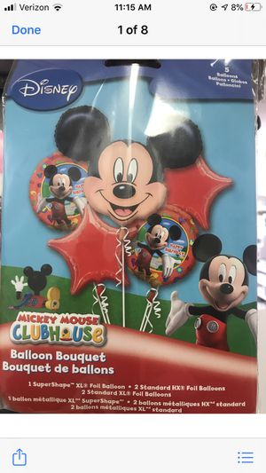 Mickey Mouse balloon bouquet for Sale in Waterbury, CT