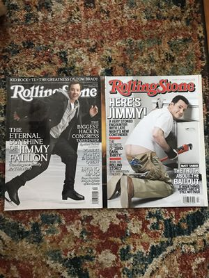Rolling Stone magazines jimmy fallon jimmy kimmel for Sale in Tacoma, WA