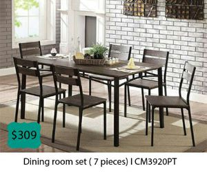 Dinning room set 7 pieces for Sale in Diamond Bar, CA