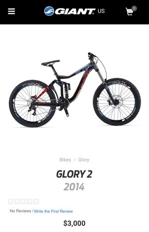 Giant glory 2 downhill mountain bike for Sale in Sandy Springs, GA