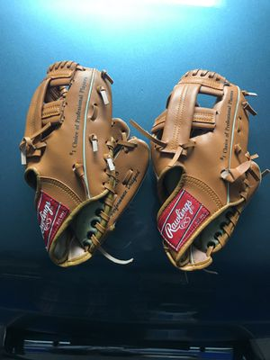 9 inch youth baseball gloves for Sale in Forked River, NJ