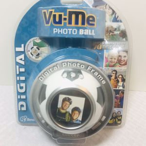 VU-ME Photo Digital Soccer Ball Photo Frame for Sale in Pawtucket, RI