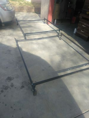 Queen. Full And Twins Bed Frames. $7 Each for Sale in Lancaster, CA